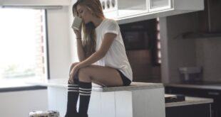 Model Women Coffee Girl Fashion Photography