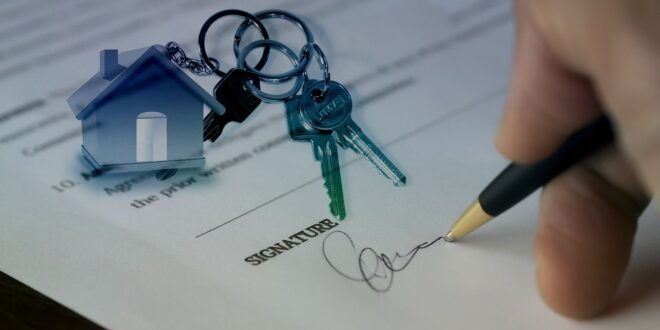 Sale Sold Hand Signature House Purchase